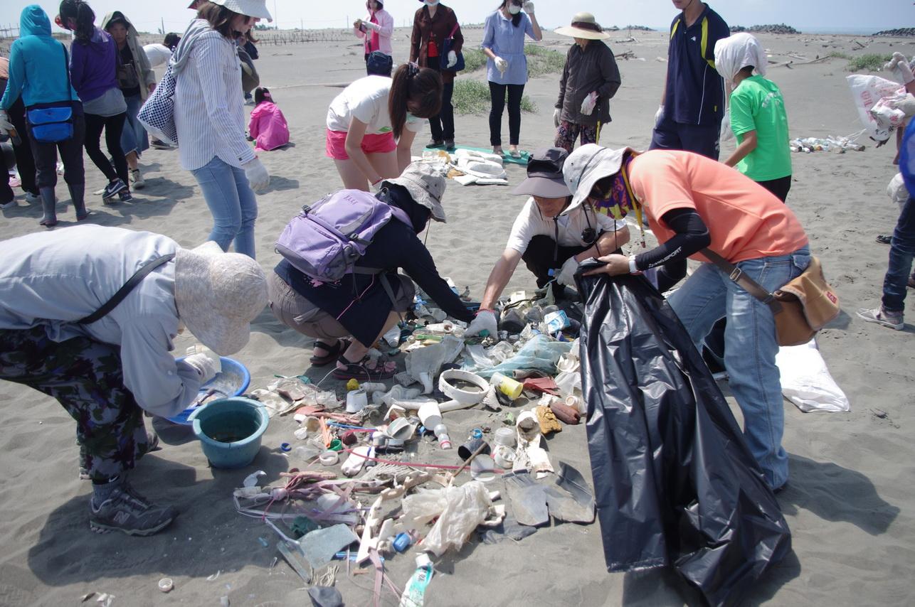 開始進行廢棄物分類